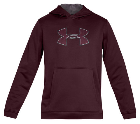 Толстовка Under Armour Big Logo Hoodie 1329743-600