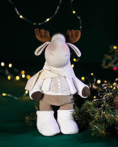 Іграшка лось Марті. Різдвяна серія.