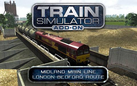 Train Simulator: Midland Main Line London-Bedford Route Add-On (для ПК, цифровой ключ)