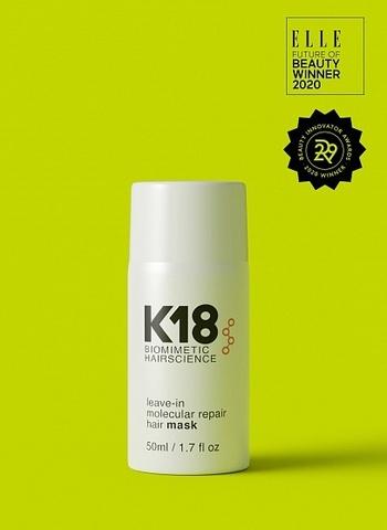 K18 Несмываемая маска Leave-in Molecular Repair Mask,  50 мл