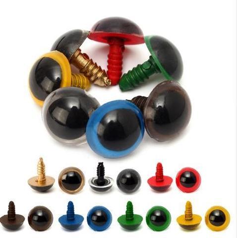 Глазки для мягкой игрушки круглый зрачок