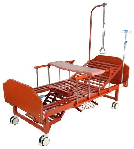 Кровать медицинская механическая YG-6 (MM-91Н)(кардиокресло) - фото