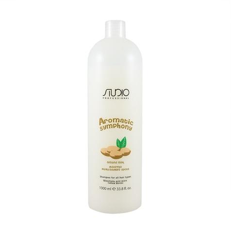 Шампунь для всех типов волос Миндаль 1000 мл. Kapous Studio