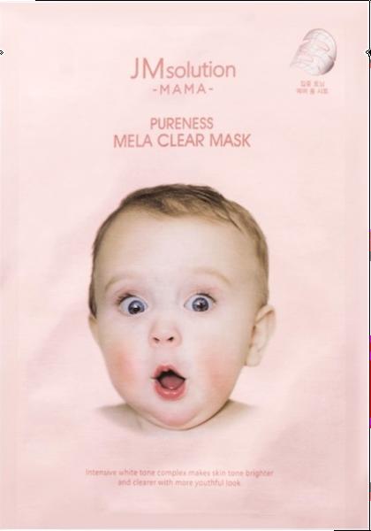 Тканевые JMsolution Тканевая маска, выравнивающая тон MAMA PURENESS MELA CLEAR MASK 30 м. Screen_Shot_2020-05-02_at_14.00.03.png