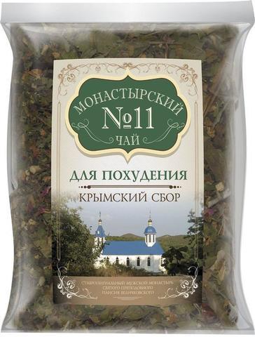 Чай Монастырский №11 для похудения, 100 гр. (Крымский сбор)