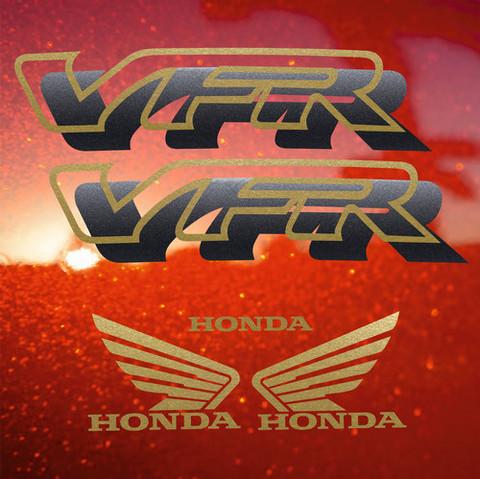 Набор виниловых наклеек на мотоцикл HONDA VFR 750,1996