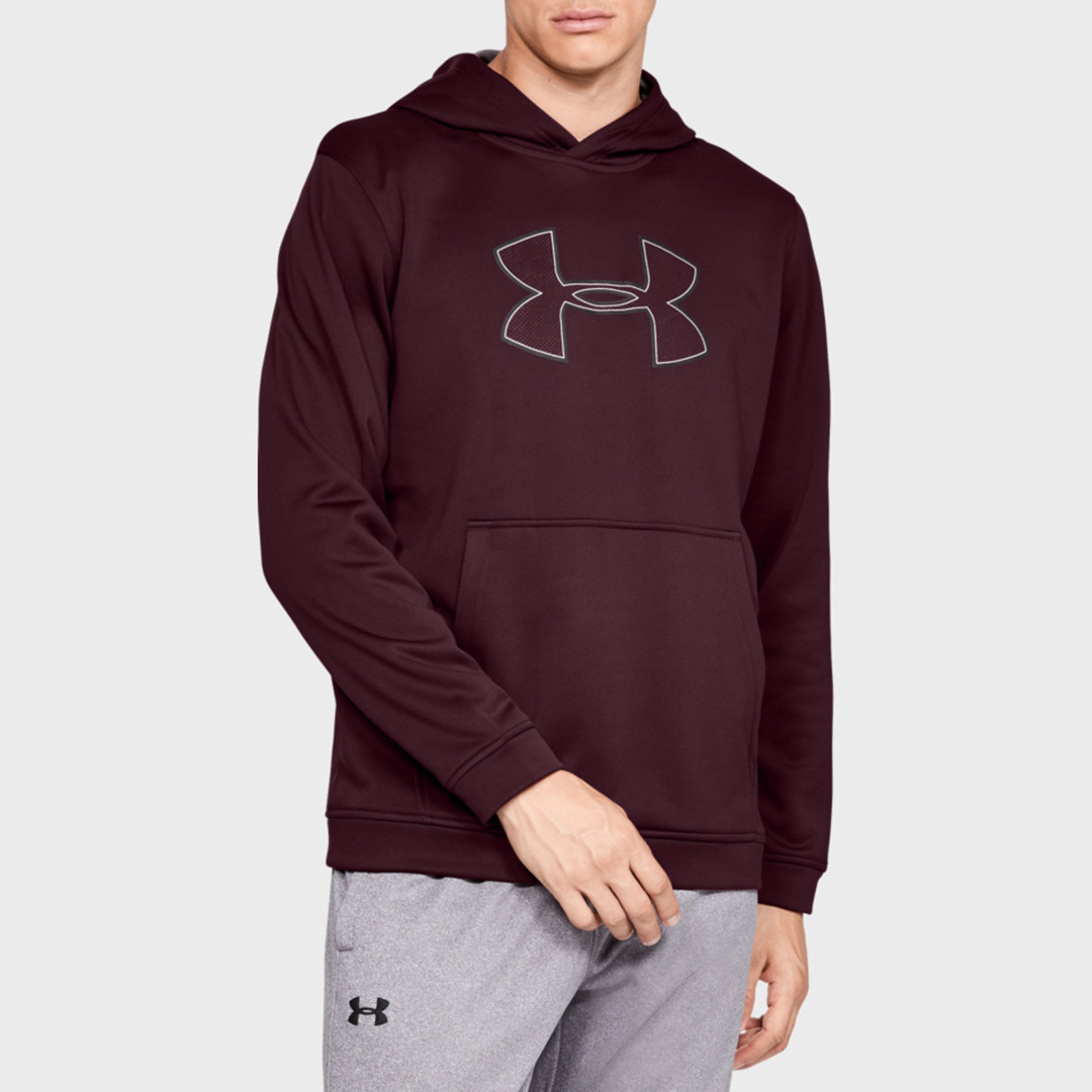 Толстовка Under Armour Big Logo Hoodie 1329743-600