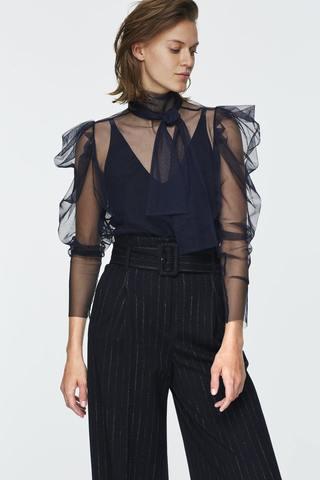 Dorothee Schumacher Твин-сет из блузы-сетки с топом