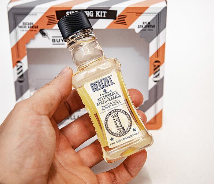 CARE170 Подарочный набор для бритья REUZEL «SHAVING KIT» крем и лосьон фото 08