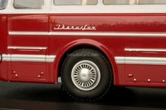Ikarus-55.14 white-burgundy Classicbus 1:43