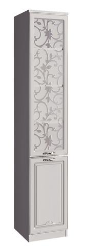 Шкаф-пенал Melania 16 для книг Арника рамух белый