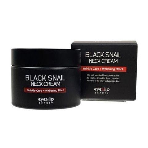 Eyenlip Black Snail Neck Cream крем для шеи с муцином черной улитки