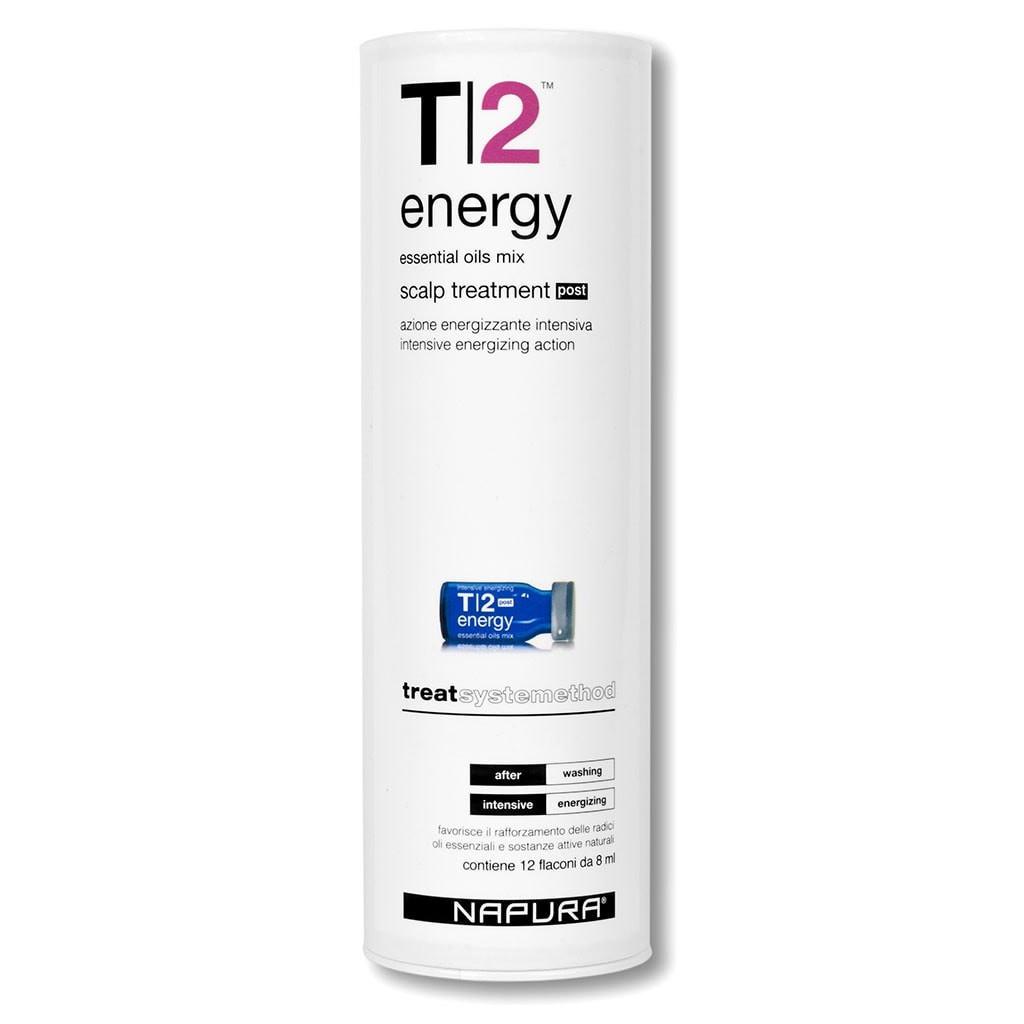 NAPURA T2 Energy Post Ампулы для нормальных волос (12шт*8мл)