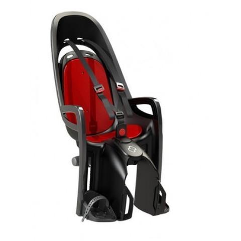 Картинка велокресло Hamax Caress Zenith серый/красный - 1