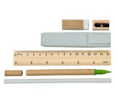 Пенал, Lejoys, с канцелярскими принадлежностями, Sustainable, 192*200 мм