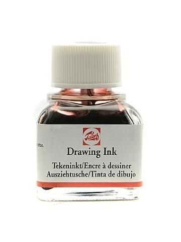 Тушь DRAWING INK банка 11 мл цв.№400, коричневая
