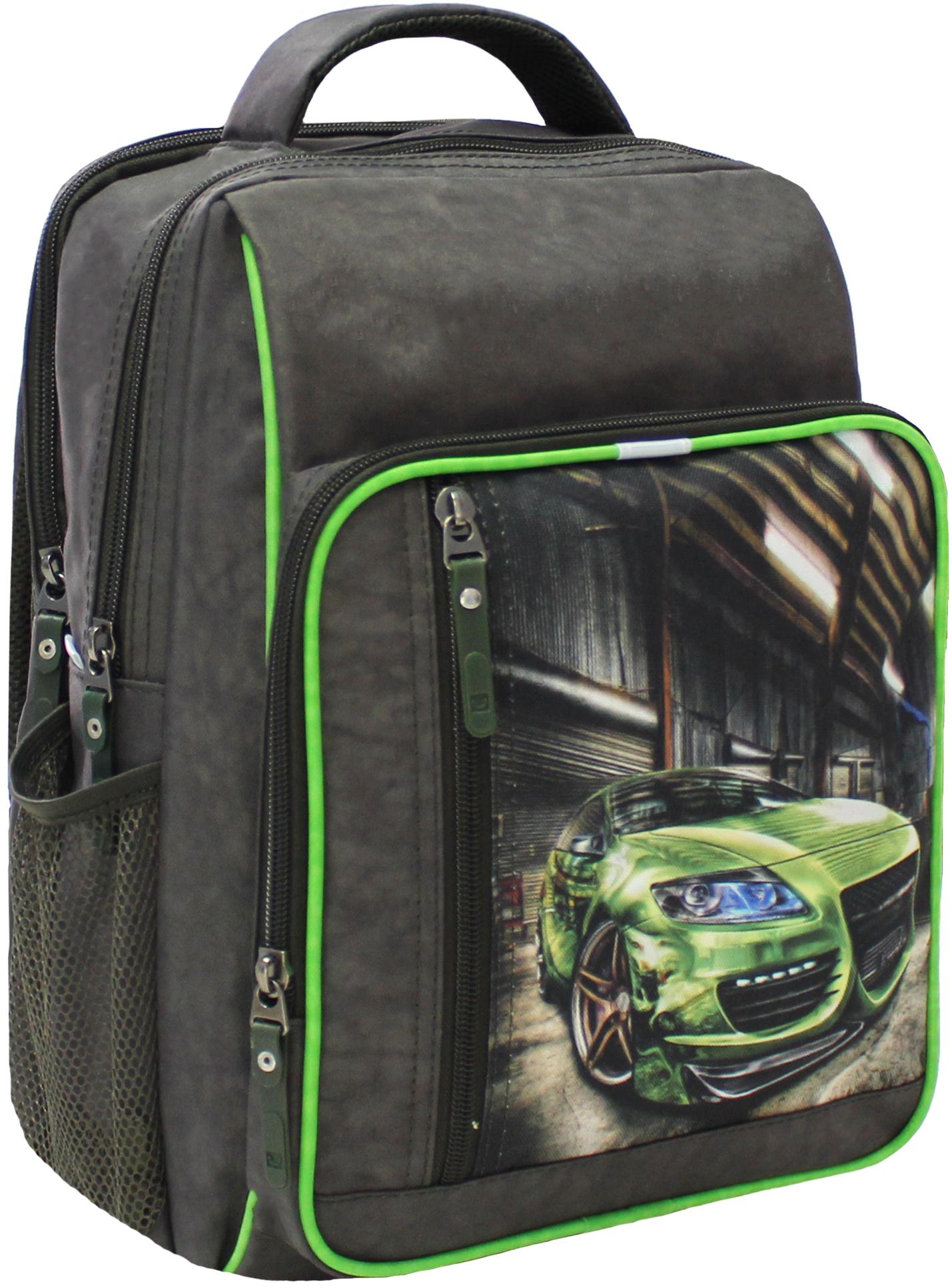 Школьные рюкзаки Рюкзак школьный Bagland Школьник 8 л. Хаки (54м) (00112702) IMG_5334.JPG
