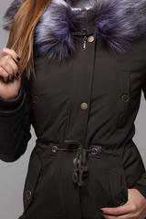 Куртка парка с меховым капюшоном Nadya