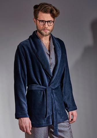 Роскошный велюровый короткий халат