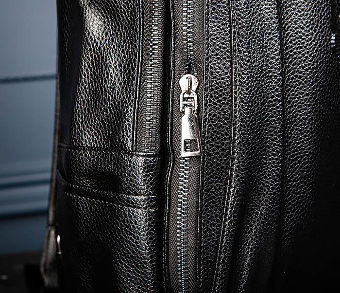 BAG557 Стильный кожаный рюкзак с оленем фото 05