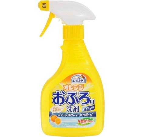 Спрей-пенка для чистки ванн апельсиновым маслом 400 мл