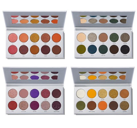 Morphe x Jaclyn Hill Eyeshadow Palette Collection