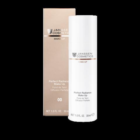 JANSSEN COSMETICS Стойкий тональный крем с UV-защитой SPF-15 для всех типов кожи | Perfect Radiance Make-up