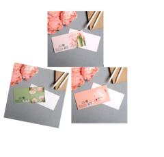 Открытка-мини «8 марта», цветы, МИКС  7 х 7см, 10 шт.