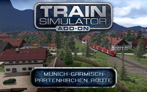 Train Simulator: Munich - Garmisch-Partenkirchen Route Add-On (для ПК, цифровой ключ)