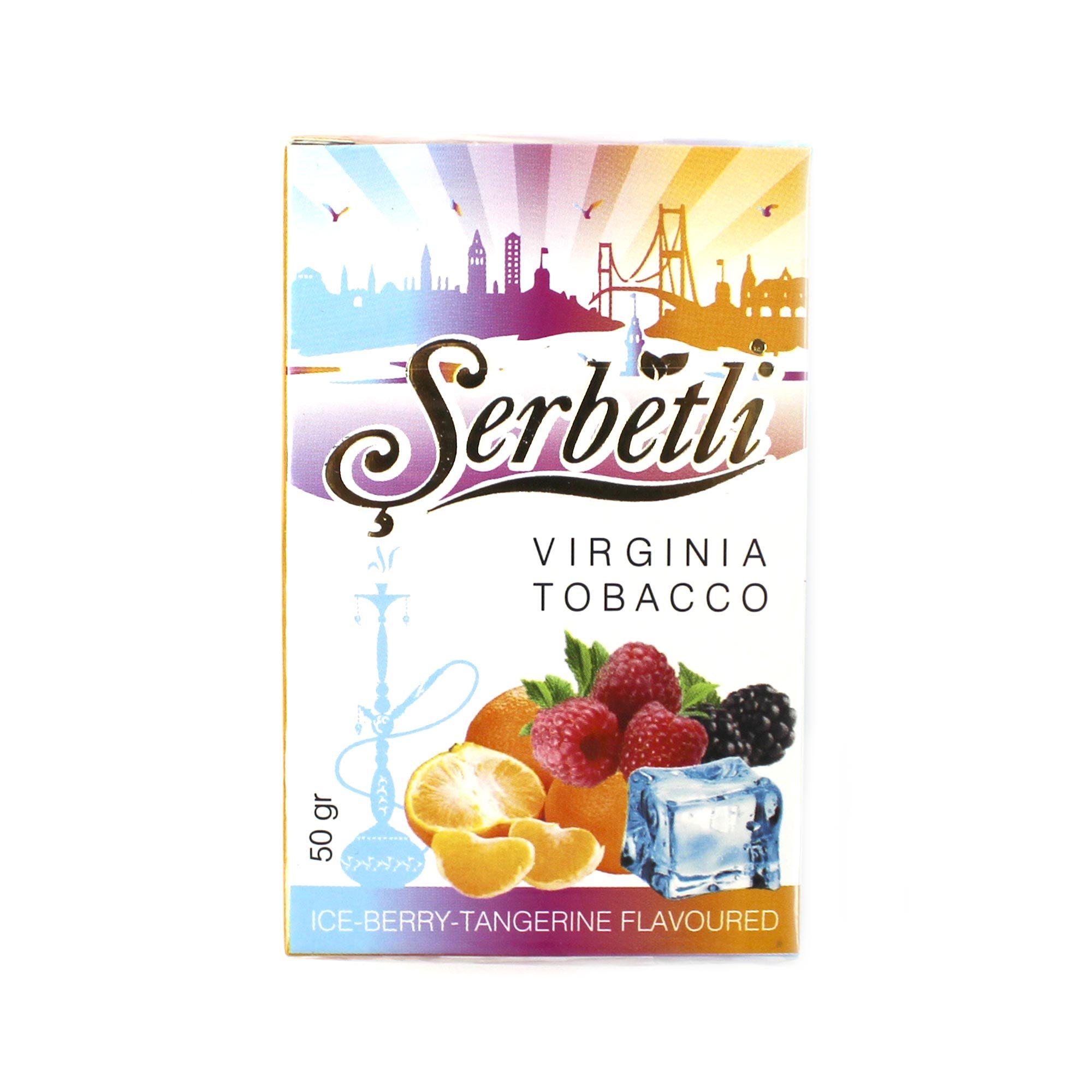 Табак для кальяна Serbetli Berry Tangerine 50 гр.