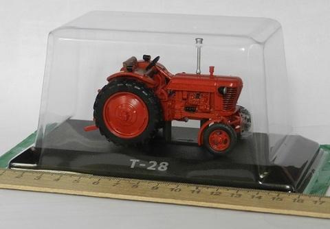 Модель Трактор №63 Т-28 (история, люди, машины)