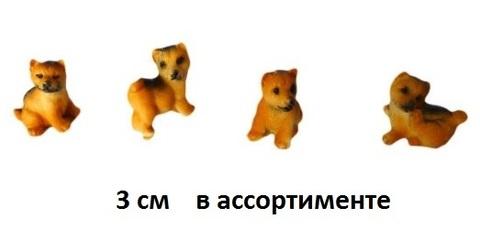 Сувенир Собака 973056 3см (НИ)