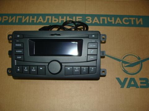 автомагнитола УАЗ-3163 с 2016 г.в (упрощенный радиоаппарат)