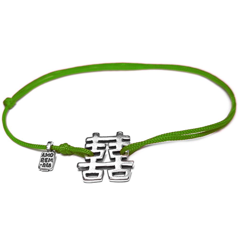 Feng Shui Bracelet, sterling silver
