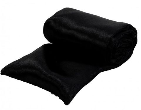 Черная атласная лента для связывания - 1,4 м.