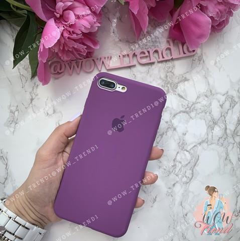 Чехол iPhone 7/8 Plus Silicone Slim Case /purple/