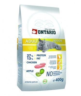 Купить корм Ontario Cat Adult Indoor для кошек