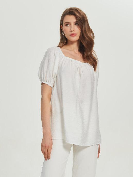 Женская блуза Brandmania с открытыми плечами