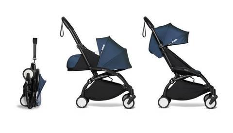 Прогулочная коляска Babyzen  Yoyo 2 Black frame Air France
