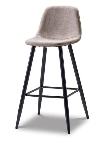 Барный стул ESF 350B темно-бежевый/черный