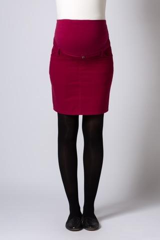 Юбка для беременных 06536 красный