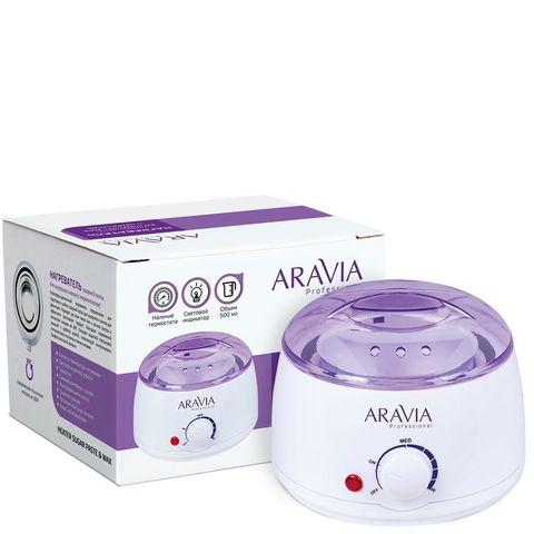 *Нагреватель сахарной пасты для шугарнга и воска с термостатом (ARAVIA Professinal/500мл/8012)