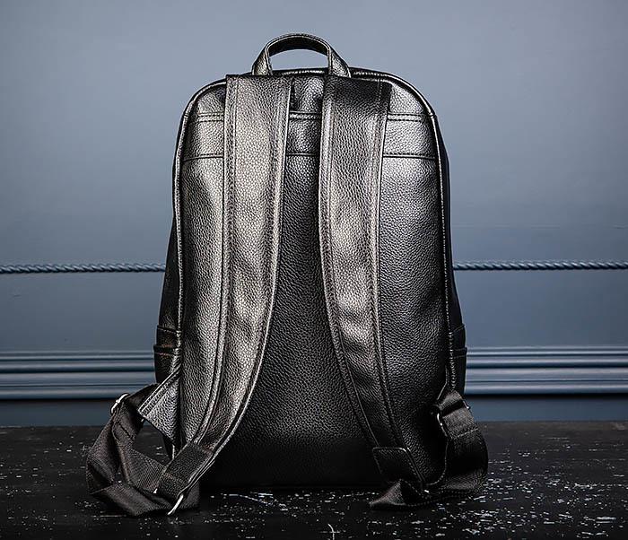 BAG557 Стильный кожаный рюкзак с оленем фото 07