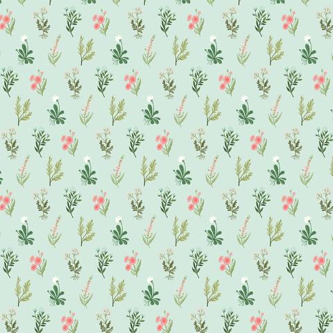 Лист двухсторонней бумаги Carta Bella - FLOWER GARDEN - 30x30