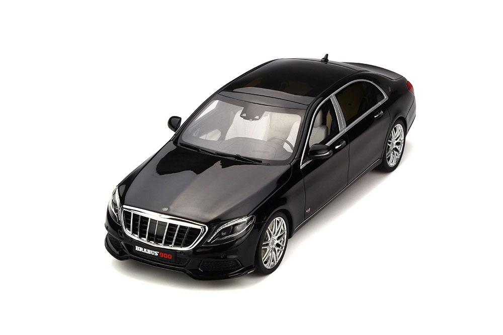 Коллекционная модель MERCEDES-BENZ X222 MAYBACH BRABUS 900 2018 OBSIDIAN BLACK