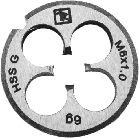 MD12175 Плашка D-COMBO круглая ручная М12х1.75 HSS, Ф38х14 мм
