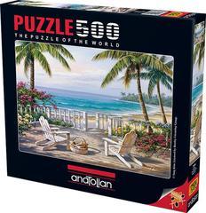 Puzzle Sahilde. Coastal View 500 pcs