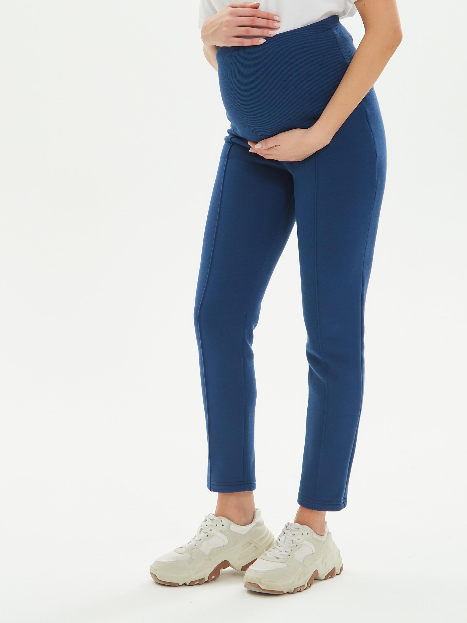 Chic mama Брюки для беременных утепленные с начесом