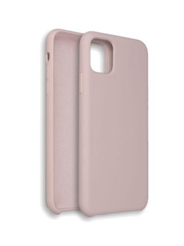 Чехол для iPhone 11 ProMax Софт тач мягкий эффект | микрофибра слоновая кость
