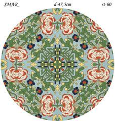 Эскиз для росписи, Круг диаметр-47,5см, SMAR-st-60